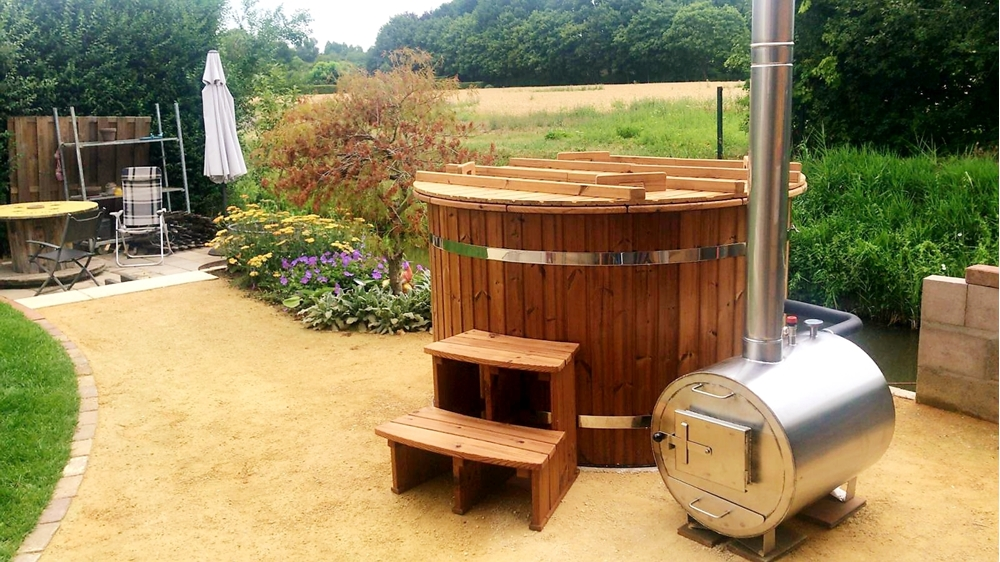 Thermowood hottub