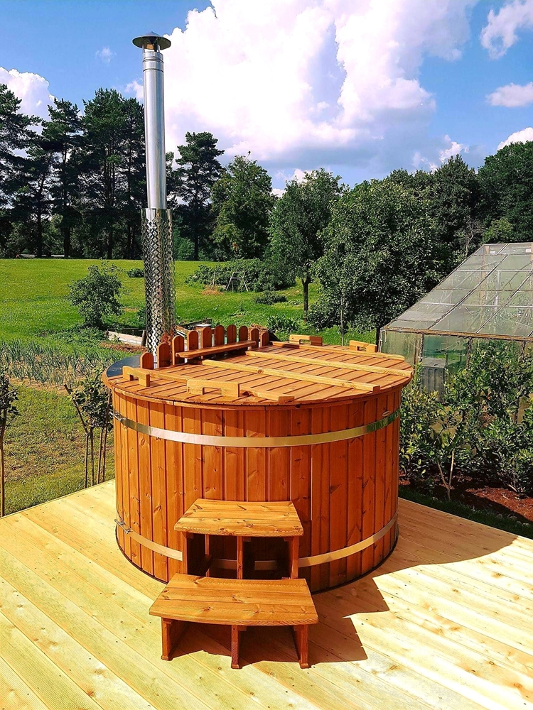 vierpersoons hot tub